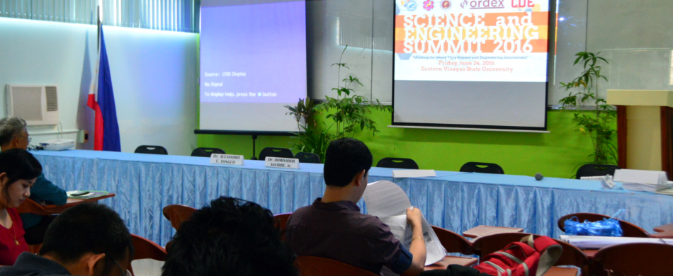 ORDEx holds SCIENCE AND ENGINEERING SUMMIT 2016